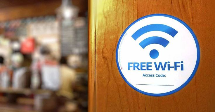 Did you know we also sell beautiful dry erase free wifi stickers so visitors