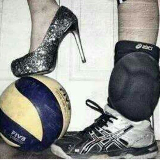 Im a girly volleyball player