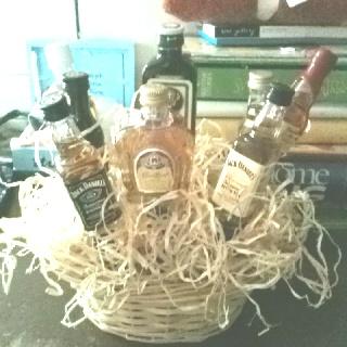 Alcohol basket