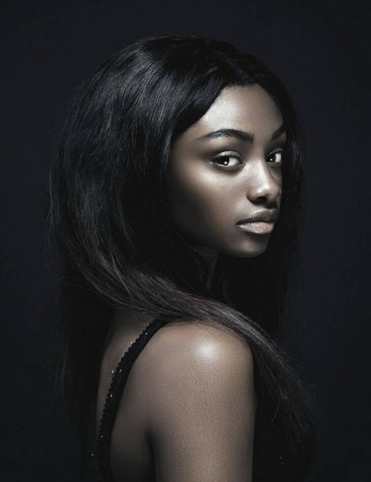 Sexy dark skin girl badboardd black girls rock for Wonderful black