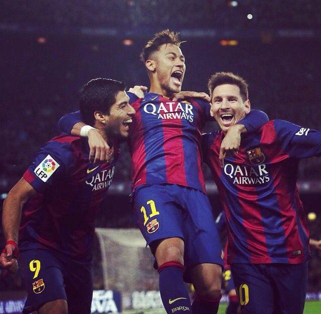 Luis Suarez - Neymar - Lionel Messi