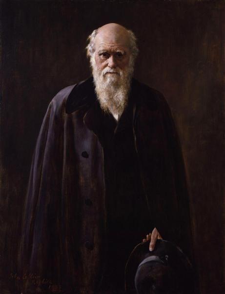 Charles Robert Darwin - Collier John Date: 1883 Style: Realism Genre: portrait