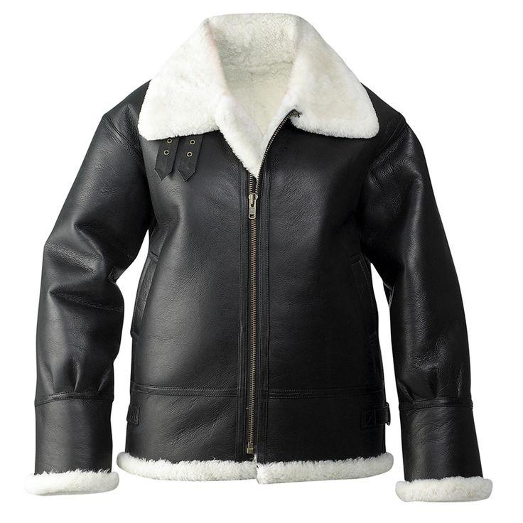 Aussie Products - Leather Bomber Jacket | Black Bomber Jacket|Motorcycle jacket