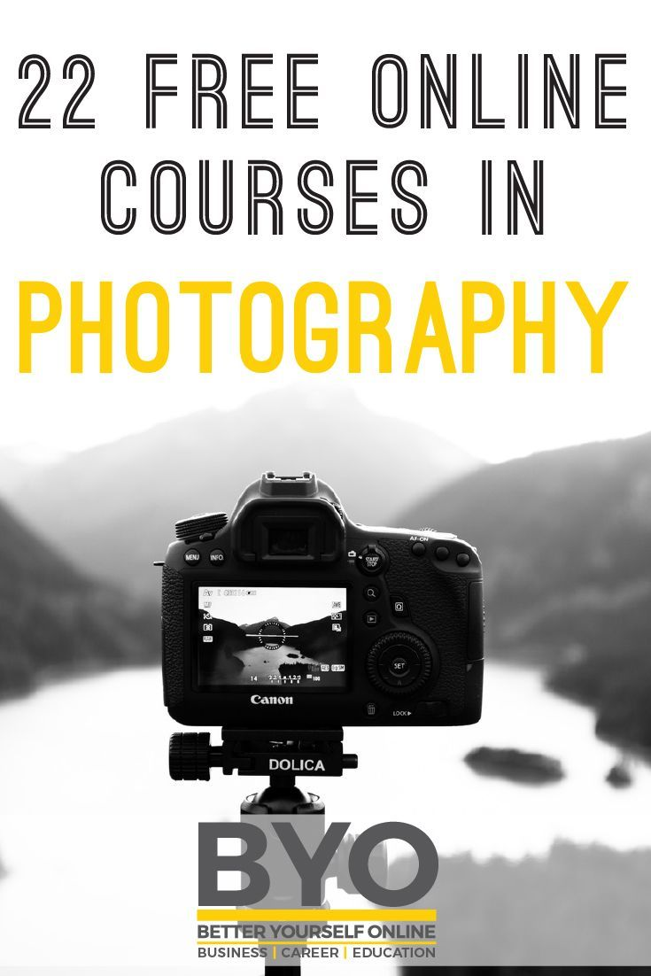 22 free online courses in photography #photography #photos
