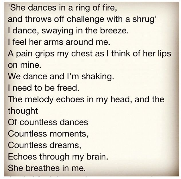 Jim Morrison's poem for Pamela ❤