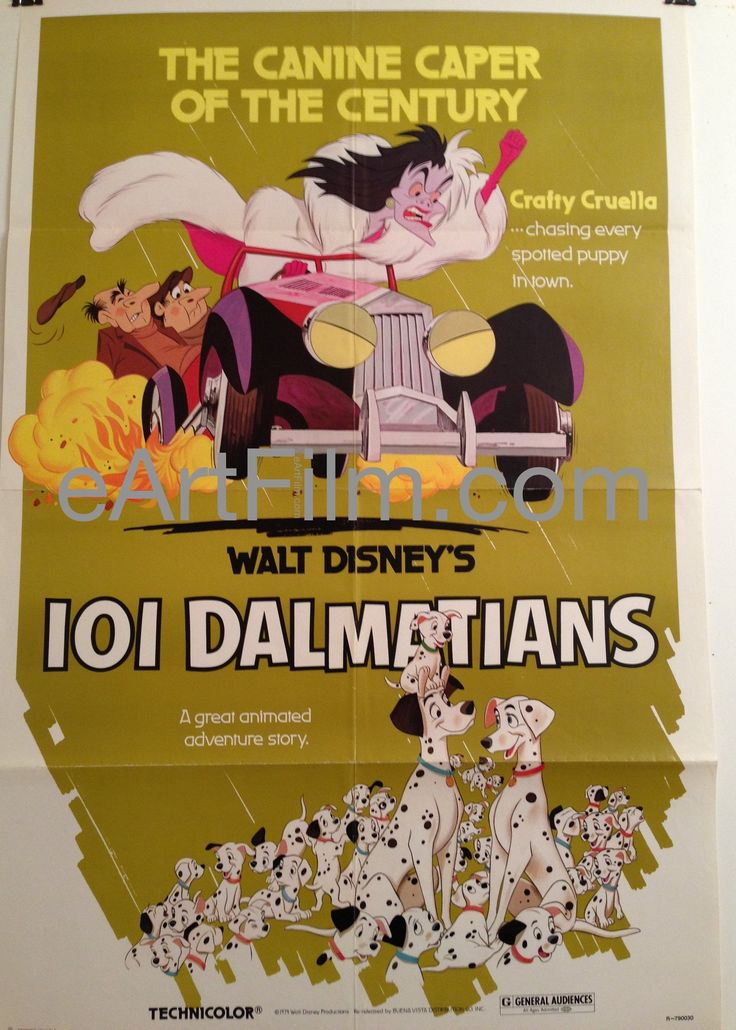 Happy Birthday #JPatOMalley https://eartfilm.com/search?q=pat+o%27malley #actors #acting #Broadway #theater #disney #voiceactors #characteractors #HelloDolly #film #movies #cinema #posters #movieposters    101 Dalmatians-1961-27x41-Disney-Rod Taylor-Animation Classic