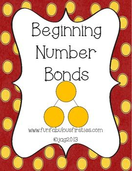 Beginning Number Bonds - FREE 7 page packet