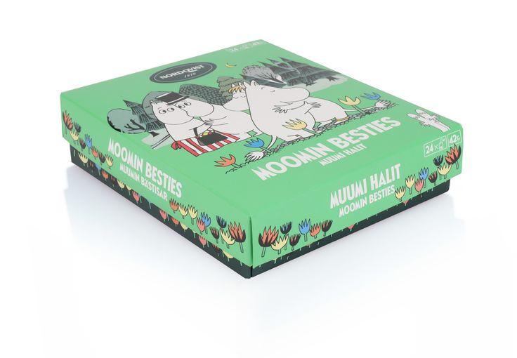 NEW Nordqvist Moomin Besties tea box.