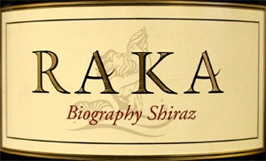 Raka 'Biography' Shiraz 2007 is one of the juiciest Shiraz that I know and Raka is a boutique winery close Cape Town in the Walker Bay region