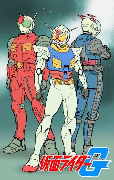 GUNDAM GUY: Gundam Fan Art: Kamen Rider G
