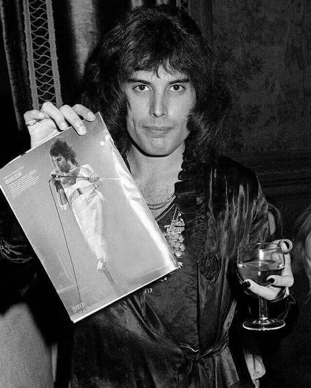 Freddie holding freddie