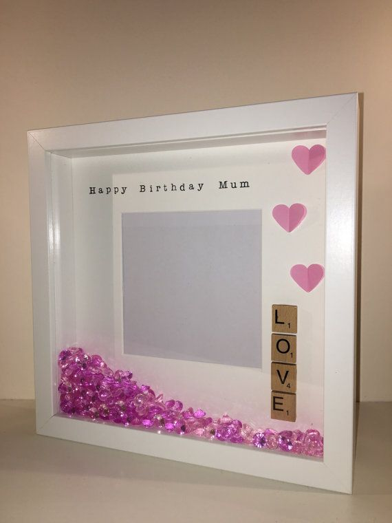 Personalised Photo Frame Perfect as a birthday by BespokeFramesUK