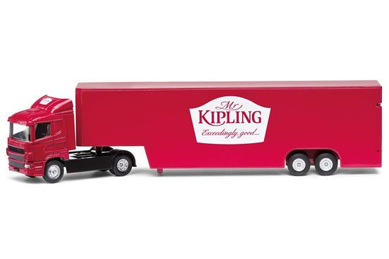 Mr Kipling Box Truck by Corgi