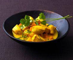 Goan Green Chicken Curry (heat 4/10)