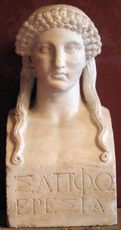 Σαπφώ, η πρώτη γυναίκα ποιήτρια (628-563 π.Χ.)