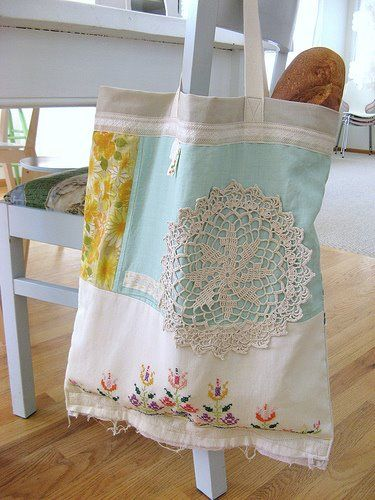 Old Tablecloths- resurrected cuteness!