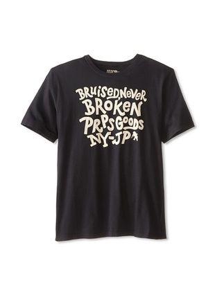 40% OFF PRPS Men's Slogan Tee Shirt (Black)