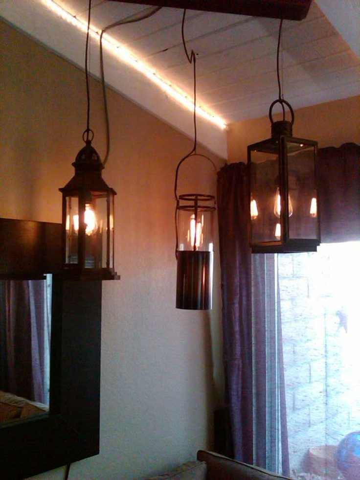 Hanging Lanterns In Our Living Room Part 85