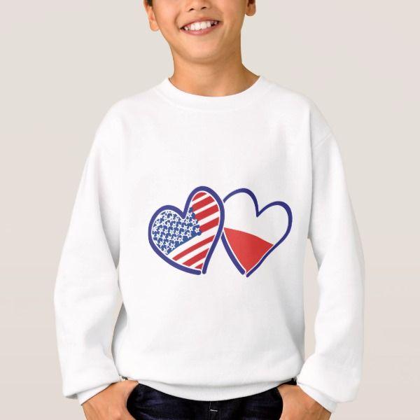 I Love Heart The USA Sweatshirt