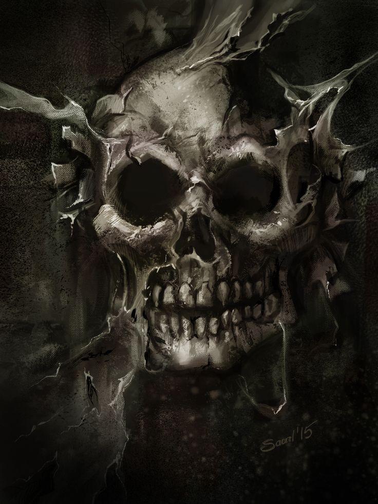 Skull by Saarl