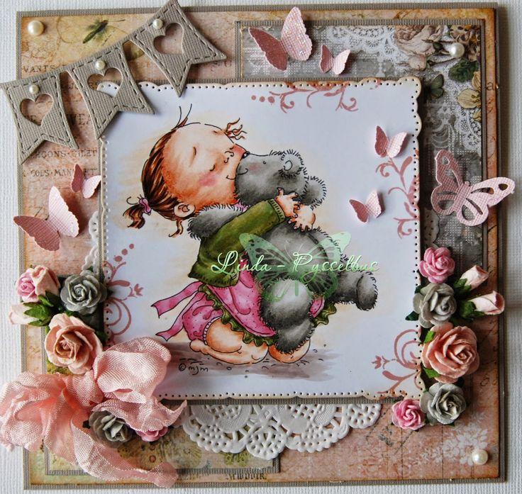 Pysselbus: Happy birthday little girl!