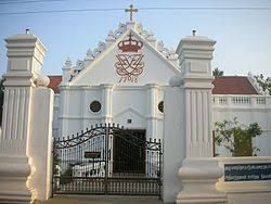 Image result for tranquebar zion church