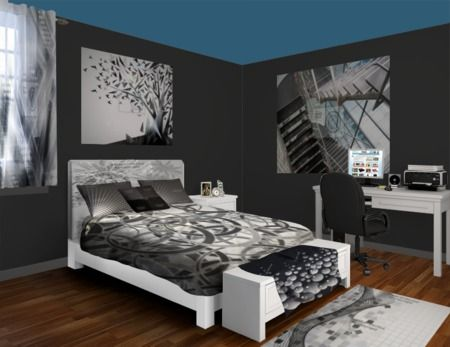 Gray Contemporary Bedroom   Fully Personalized   Design Your Own Click Pic! Part 47