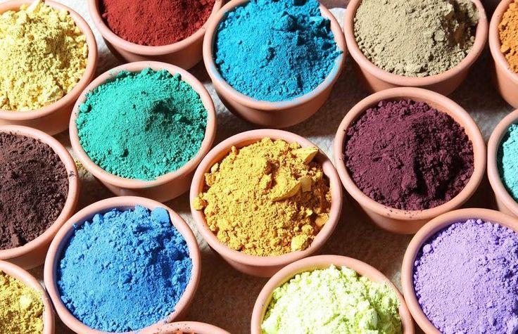 ¿Cómo obtener pigmentos naturales para pintar?