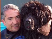 Season 2   Episode 1   Brady, Bandit and Hootie The new season of Dog Whisperer starts with a splash as we follow the progress of a water-obsessed Labrador. Plus, Cesar has his hands full with a pooch with performance anxiety and a leg chomping Chihuahua. It's a season premiere you can really sink your teeth into. Kid-Aggressive Canines