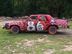 Demolition Derby Car   by Thunder Circus