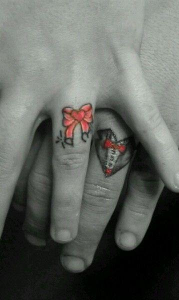 59 best Wedding Ring Tattoos images on Pinterest   Wedding ring ...