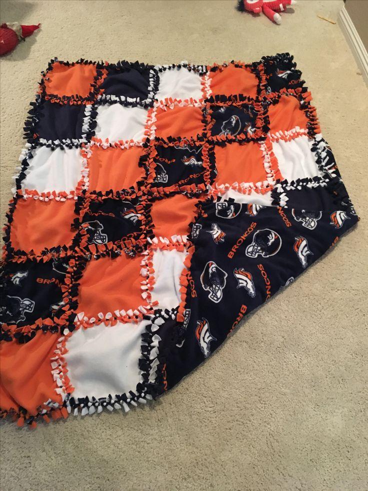 No tie fleece patch blanket 52x60 Diy tie blankets, Diy