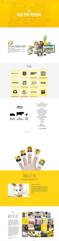 Unique Web Design, Bopgun Design (http://www.bopgun.com/) #WebDesign #Design