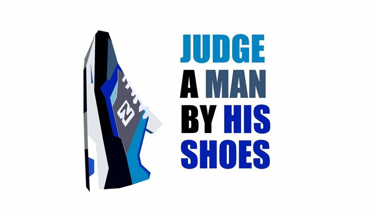"Judge a Man by his Shoes. Part of my University project - ""Self Promotion"""