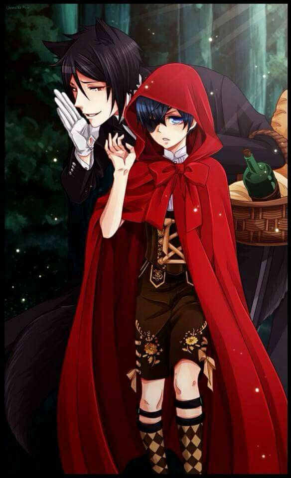 Sebastian and Ciel- Black Butler