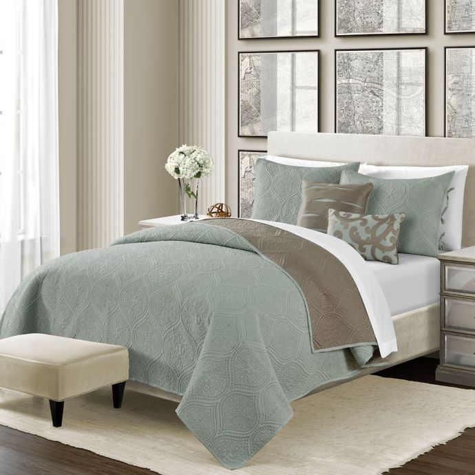 Camber 5 Piece Reversible Quilt Set King Quilt Sets Bed Bath