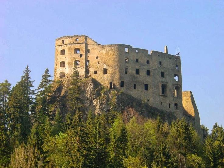 Likavka Castle, a few minutes from my hometown Ruzomberok