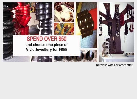 Piper Jordan Sale  Spend 50 dollars and choose one piece of Vivid Jewellery for free  www.piperjordan.com.au