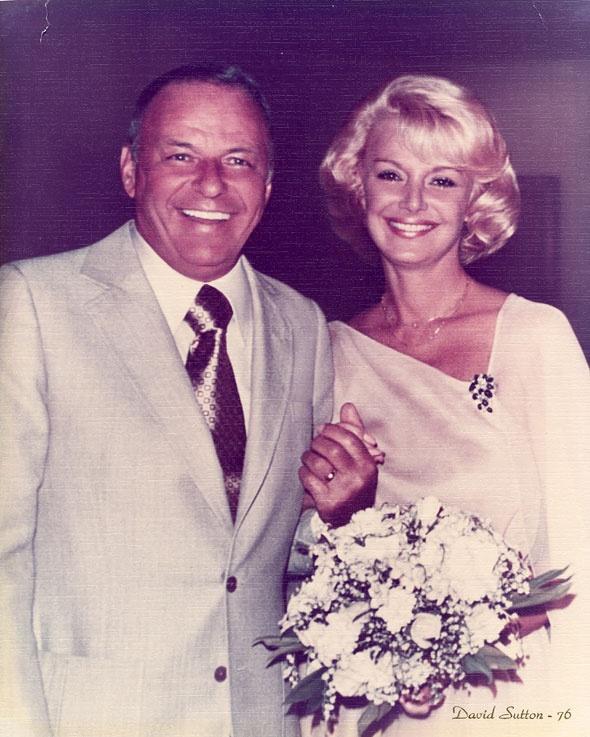 Frank Sinatra and Barbara Sinatra were wed at Sunnylands