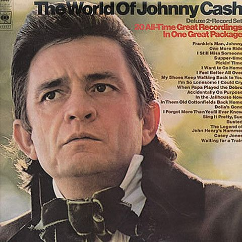 Johnny Cash The World of Johnny Cash – Knick Knack Records