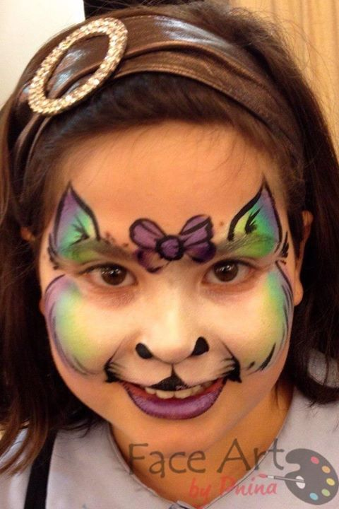 36 best images about cat face paint on Pinterest   Kitty ...
