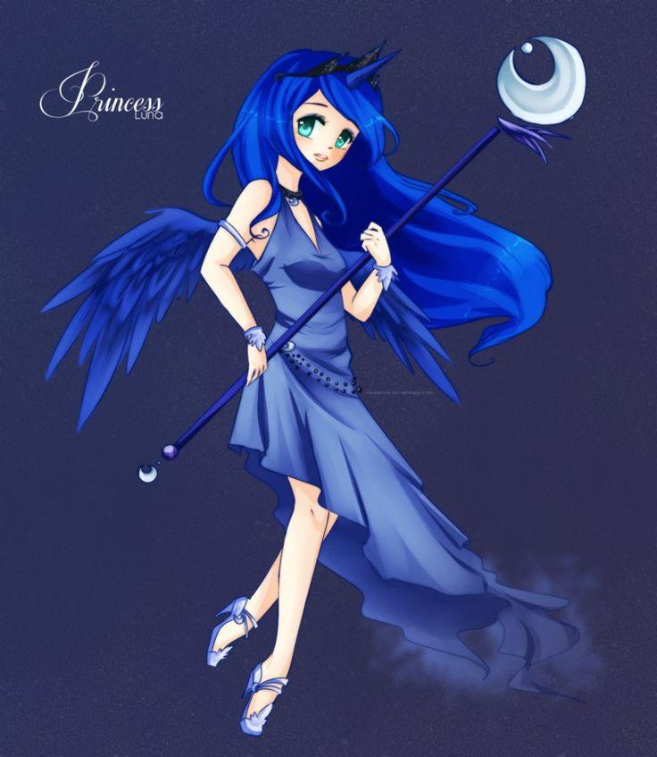 Princess luna my little pony anime princess luna my little pony friendship is magic photo - Pony dessin anime ...