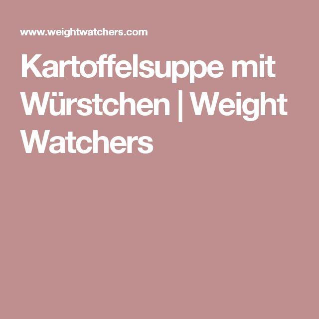 Kartoffelsuppe mit Würstchen | Weight Watchers