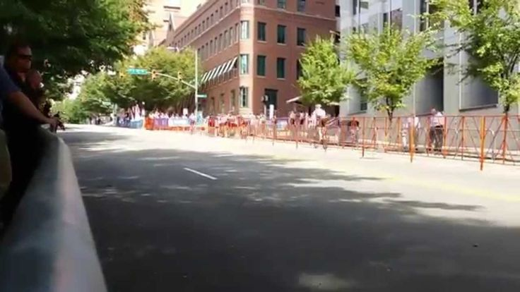 This is a short time lapse taken during the Road Circuit training for the UCI Worlds Championship bike races held in Richmond VA during September 2015. This was created using Microsoft's Hyperlapse App for Android. It does a pretty good job creating this.