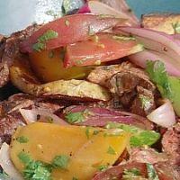 Peruvian Grilled Lomo Saltado Recipe