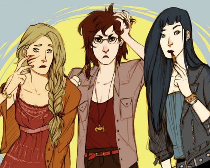 15 Harry Potter Gender Benders That Put The Ron In Veronica Fem Harry Potter Harry Potter Pictures Female Harry Potter