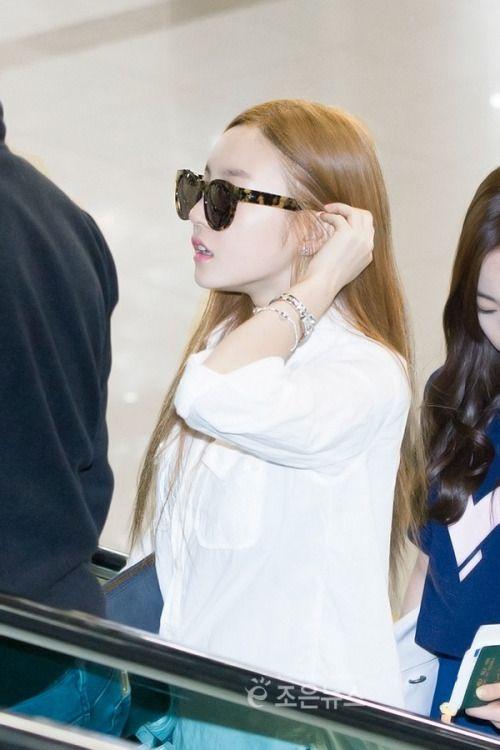 Kara - Goo Ha Ra wore BLANC&ELCARE sunglasses | SHANGHAI (Tortoise) US $250.00