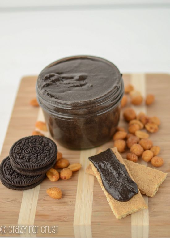 Oreo Peanut Butter by crazyforcrust.com | The BEST peanut butter yet!