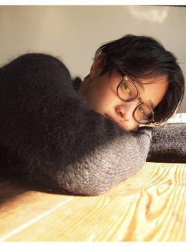 ナヌーク シブヤ(nanuk shibuya)【nanuk】前髪長めの束感カット×無造作くせ感MIXパーマ