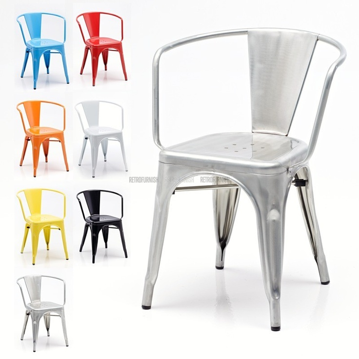46 Best Chaise Tolix Images On Pinterest Chairs Dining